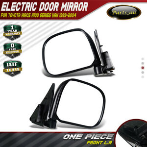 Manual Door Side for Toyota Hiace Mirror H100 Series Van 89-04 Front Left&Right