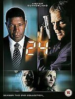 24 - Series 2 - Complete (DVD, 2003, 7-Disc Set), UK Seller, Brand New & Sealed