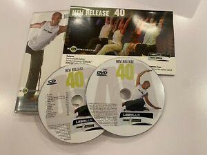 Les Mills BodyBalance 40 DVD, CD und Anleitung