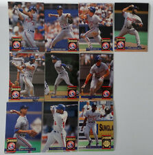 1994 Donruss Series 2 Montreal Expos Team Set of 10 Baseball Cards