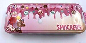 Smackers 16 Pcs Lip Gloss 8 Pcs Shimmer Cream Tin Container Kids Make Up New