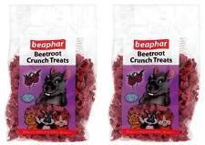 Beetroot Crunch x2 Pack Treats Rabbits & Guinea Pigs Crunchy Treats 150g Beapher