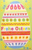 5 St. Osterkarte 131283 11,5 x 17 cm Skorpion FROHE OSTERN mit Umschlag