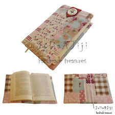 Handmade Fabric Book Cover