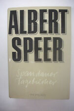 SIGNED by ALBERT SPEER Adolf Hitler Armaments Minister*WWII Nazis*Secret Diaries