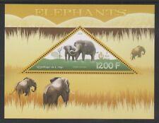 Congo - 2014, 1200f Elephants sheet - MNH