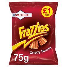 Smiths Frazzles Crispy Bacon Snacks £1 PMP 75g Case Of 15