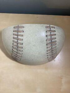 Pier 1 Kids Baseball Wall Shelf- Half Baseball- Boys Room Playroom Ball