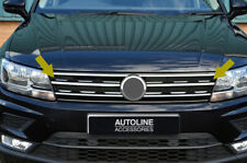 Chrome Avant Calandre Accent Bordure Set couvre pour s'adapter VOLKSWAGEN TIGUAN...