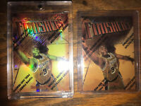SHAQUILLE O'NEAL1997 TOPPS FINEST #50 FINISHERS REFRACTOR and Base W/ COATING