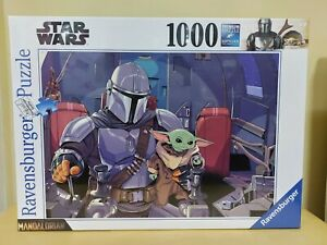 NEW Ravensburger Star Wars The Mandalorian & Child 1000 pc Jigsaw Puzzle 16565
