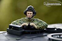 Leopard Panzer Bundeswehr Kommandant Halb  Figur handbemalt Resin 1:16 Art. L1