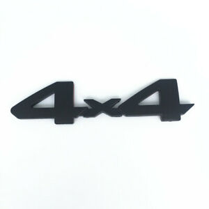 4 X 4 Blackout Emblem Overlay fit Toyota Tacoma Tundra 4Runner OEM High quality