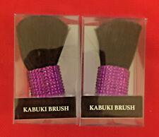 2 Pack  Kabuki Brushes Makeup Beauty Cosmetic Face Powder Blush Brush Foundation