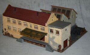 Vintage PreBuilt Faller 214 Factory Building Stucco - Made in Germany - HO Gauge