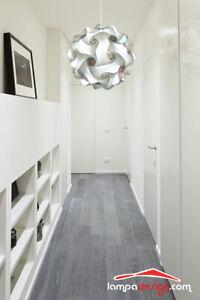 Lampadario puzzle design cucina bagno ingresso sfera corridoio 35 cm vintage