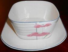 1987 Sango Quadrille SAVOIR FAIRE PATTERN Gravy Boat/Underplate