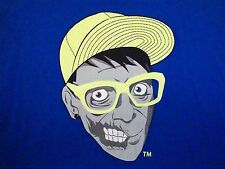 Creeps Zombie Gansta Gangster Hip Hop Street Wear skateboard skater T Shirt 2XL