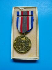 Original Georgia National Guard For Meritorious Service Medal With Ribbon Bar