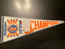 Vintage New York Mets Pennant 1986 World Series Champions