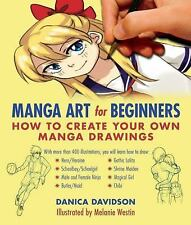 Manga Art for Beginners: How to Create Your Own Manga Drawings (Paperback or Sof