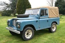 "LAND ROVER SERIES III 2.25 88"" SWB SOFT TOP"