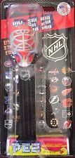 PEZ - NHL Hockey Mask - Fire - MOC - Mint On Card