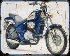 Aprilia Chopper 125 97 A4 metal sign moto Vintage Aged