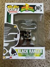 Power Rangers Funko POP! TV Black Ranger Vinyl Figure #361 New