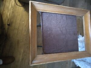 Wormy Chestnut Picture Frame