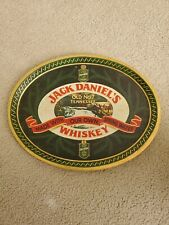 """Jack Daniels Tray Tin Whiskey Old No 7 Barringer Wallis & Manners 16"""" Gold Medal"""