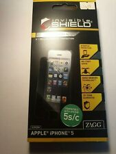 Zagg iPhone 5 /5S / SE 5C Screen Protector Invisible Shield Full Body Clear Skin