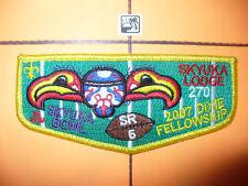 OA Skyuka Lodge 270,S32,2007 SR-5 Dixie Football Flap,Palmetto Cl,Spartanburg,SC