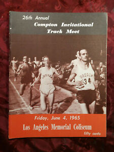 26th Annual Compton Invitational Track and Field Meet June 4 1965 Program