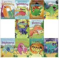 Miles Kelly Dinosaur Adventures 10 Books Collection Set (New) Early Learning