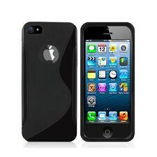 Coque Gel Silicone S-Line Noir Pour Iphone 6 4.7 pouces  + Un  Film Offert