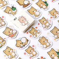 Cute Shiba Inu dog Paper Sticker Decoration Diary Scrapbooking Label Sticker WSI