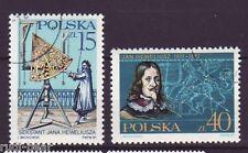 Polen Nr. 3116-17 gest.  Johannes Hevelius Astronom