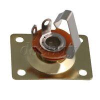 Gold Square Guitar Jack Plate & Socket for Electric Guitar Set of 20