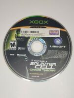Tom Clancy's Splinter Cell: Chaos Theory  (Microsoft Xbox, 2005) Disc Only