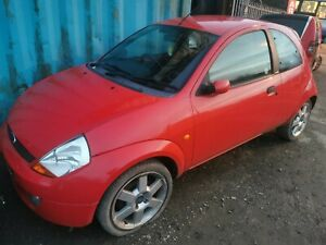2007 FORD KA RED SPORT LEATHER SE 1.6 PETROL CDC ENGINE BREAKING MANUAL