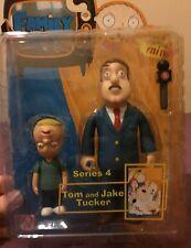 Tom And Jake Tucker Figures - Mezco Family Guy Series 4 - Rare