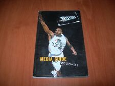 DETROIT PISTONS 00/01 NBA MEDIA GUIDE