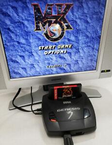 Mortal Kombat 3 Sega Genesis AUTHENTIC ~Cleaned Contacts combat MK3 genuine