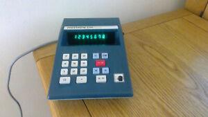Vintage Dixons PRINZTRONIC C44 Electronic Calculator 240v