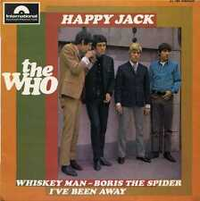 "THE WHO ""HAPPY JACK"" ORIG FR EP 1966 VG++"