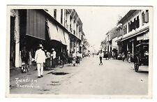 Tjantian - Soerabaja Surabaya Real Photo Postcard c1930s East Java Indonesia