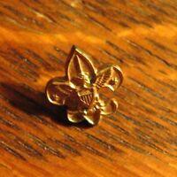 BSA Vintage Small Lapel Pin - Boy Scouts Of America Eagle Fleur De Lis Uniform