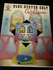 Blue Oyster Cult Cult Classics for Guitar Tab Sheet Music Chords Rock Songs Book
