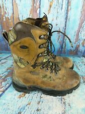 Red Wing Irish Setter 2815 Buck Tracker Leather Camo 1600g Hunting Boots 8.5 W